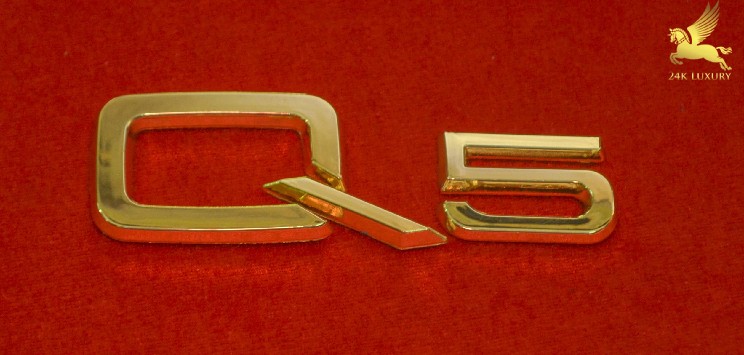 Bộ chữ Q5 mạ vàng