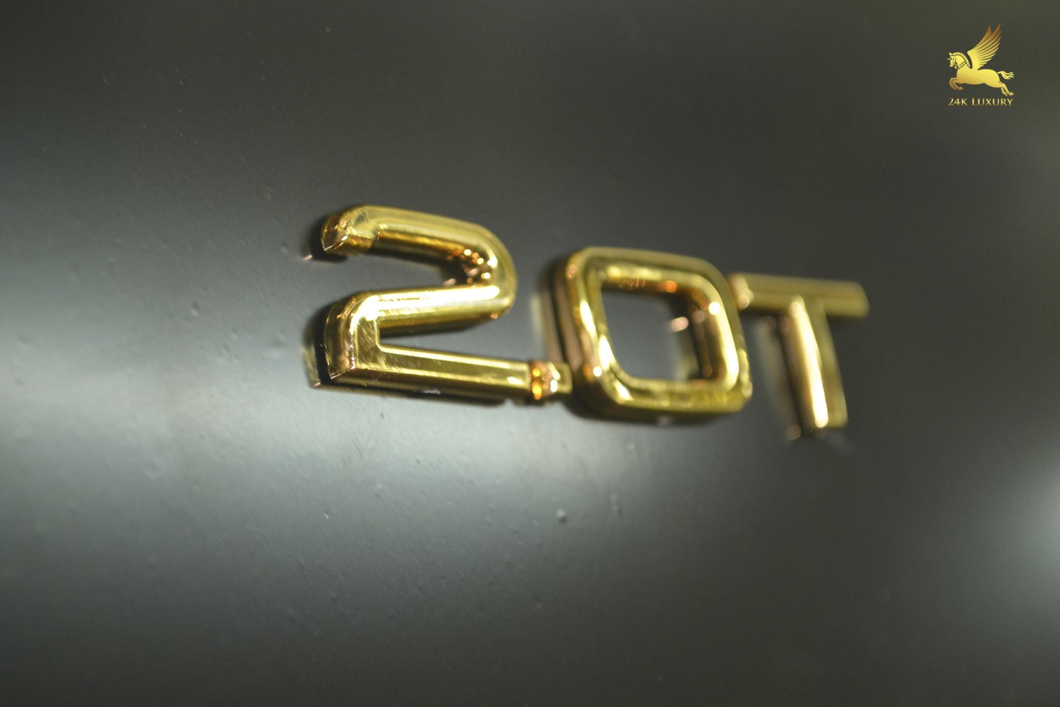 Bộ chữ quattro mạ vàng giá: 1.600.000đ