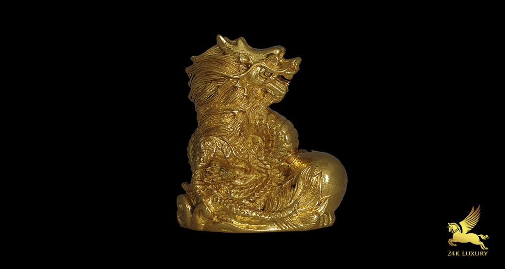 12 con giáp mạ vàng