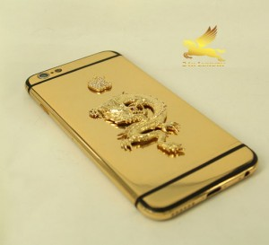 iphone mạ vàng