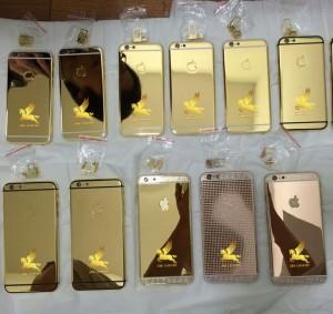Bộ sưu tập iphone 6 mạ vàng