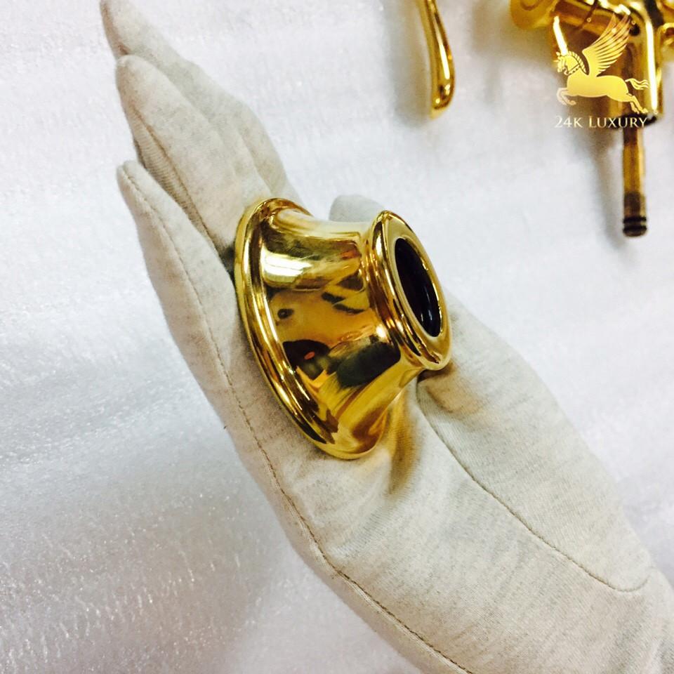 Đế cài ôc vít mạ vàng tại Vina Gold Art