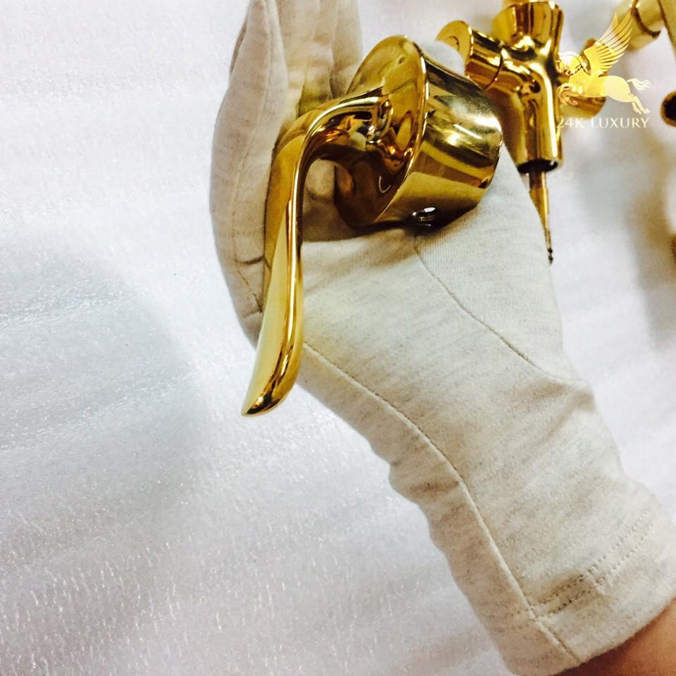 Tay sen mạ vàng tại Vina Gold Art